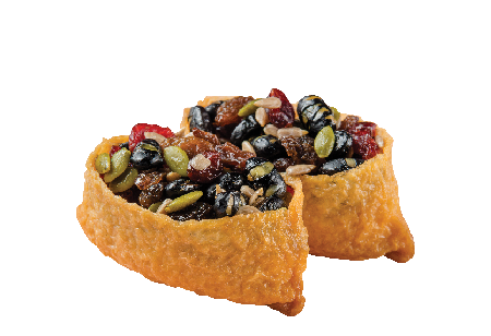 Fried Tofu Pouch with Mixed Nuts