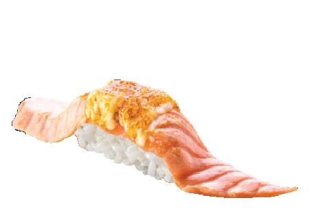 caramelised salmon