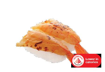 shrimp with sea urchin