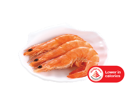 cooked whole shrimp